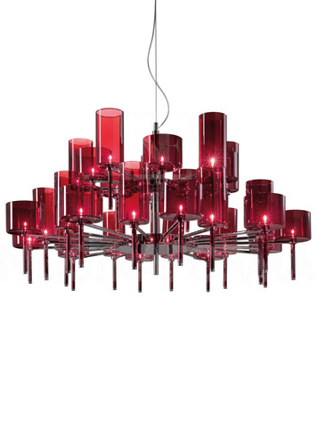 replica Axo Light Spillray SP 30 pendant lamp (red)