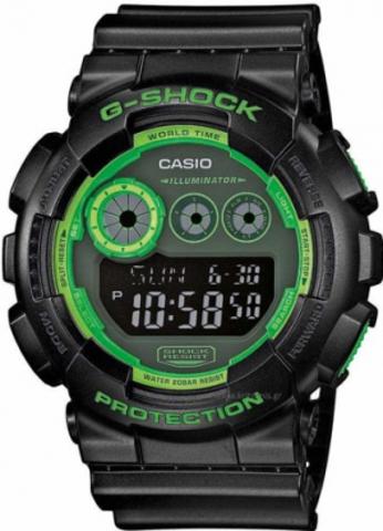 Купить Мужские часы CASIO G-SHOCK GD-120N-1B3ER по доступной цене