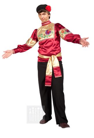 Фото Гармонист - мужской костюм рисунок Список моделей костюмов для танцевальных коллективов