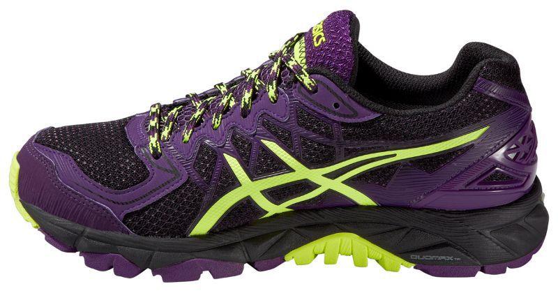 Женские кроссовки внедорожники Asics Gel-Fuji Trabuco 4 GoreTex  (T5L7N 9007) фиолетовые фото