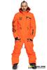 Мужской сноубордический комбинезон Cool Zone Acid 3617 оранжевый