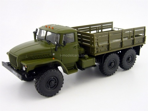 URAL-4320 board khaki 1:43 DeAgostini Auto Legends USSR Trucks #7