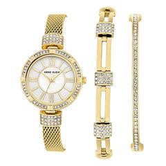 Женские наручные часы Anne Klein 2844GBST в наборе