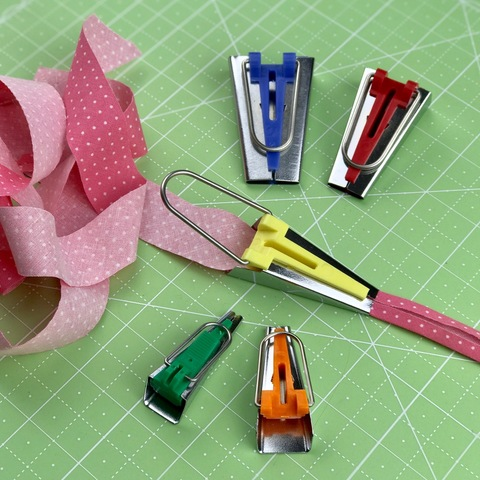 Набор приспособлений для отглаживания косой бейки, Tape Maker Set (арт. LS-1204)
