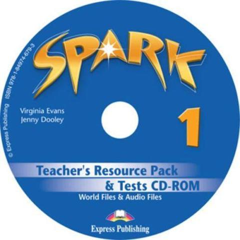 Spark 1. Teacher's resource pack & tests Cd-rom (international/monstertrackers). CD-ROM для учителя к тестовым заданиям с дополнительными материалами