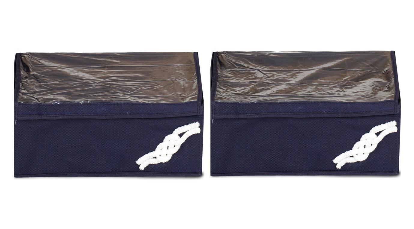 Набор из 2-х органайзеров для мужского белья, Классика