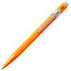 Шариковая ручка Carandache Office Popline оранжевый (M) чернила: синий (849.530) шариковая ручка carandache office popline белый m чернила синий 849 502