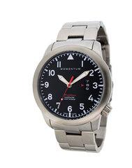 Канадские часы Momentum FLATLINE FIELD Black 1M-SP18BS0