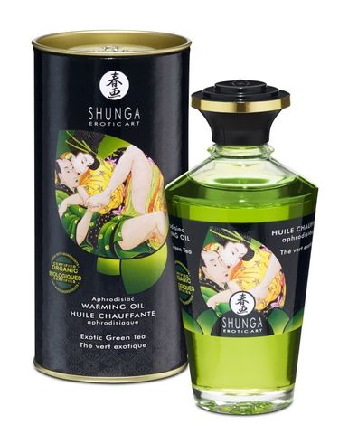 Масло интимное массажное Экзотический зеленый чай 100 МЛ фото