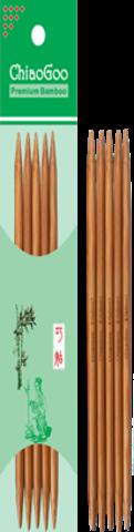 Чулочные спицы ChiaoGoo темный бамбук 20 см