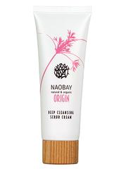 Глубокоочищающий крем-скраб, Naobay