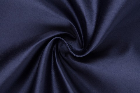 Ткань Атлас Блестящий Дюпон (сапфирово-синий) №20