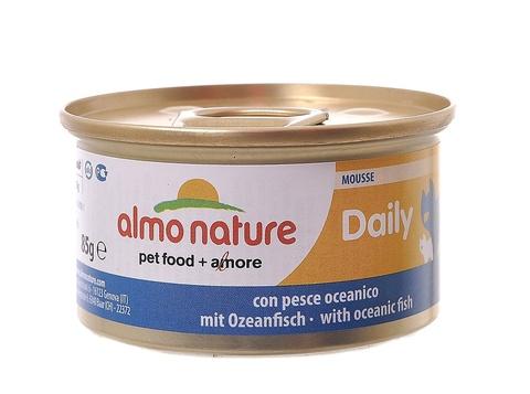 Консервы (банка) Almo Nature Daily Menu mousse Oceanic fish