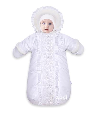ARSI Комбинезон-мешок Снегурочка молочный