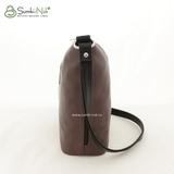 Сумка Саломея 405 итальянский кофе + черный