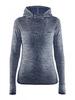 Женская спортивная рубашка с капюшоном Craft Core Seamless 1904871-1384