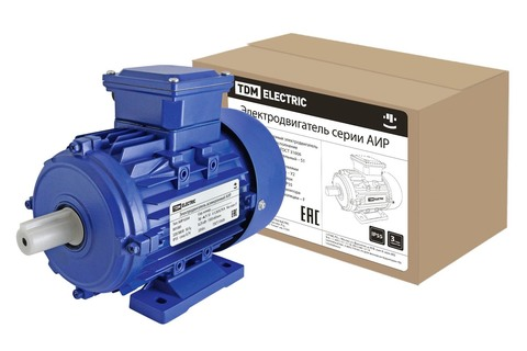 Электродвигатель АИР 63A4 0,25 кВт 1500 об/мин 1081
