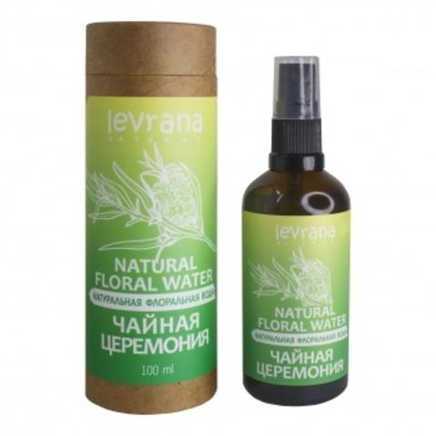 Флоральная вода для лица и тела. Чайная церемония, 100мл (Levrana)