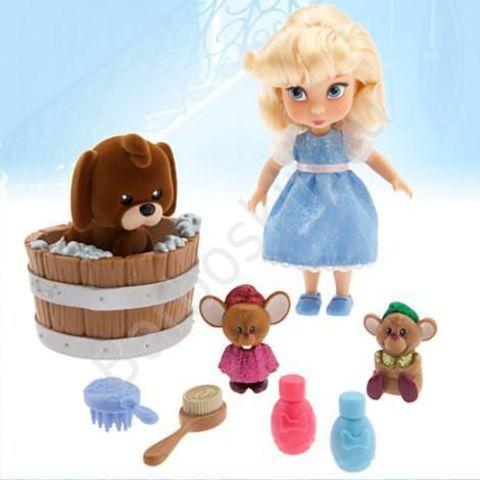 Игровой набор Кукла малышка Золушка в чемоданчике с игрушками - Cinderella, Disney Animators' Collection