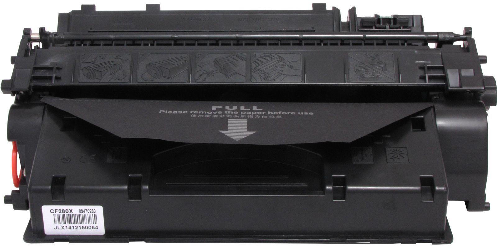 MAK №80X CF280X, черный, для HP, увеличенной емкости до 6500 стр.