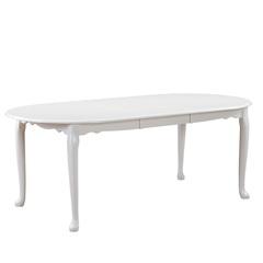 Стол обеденный AVANTI MOZART (160) WHITE (белый)