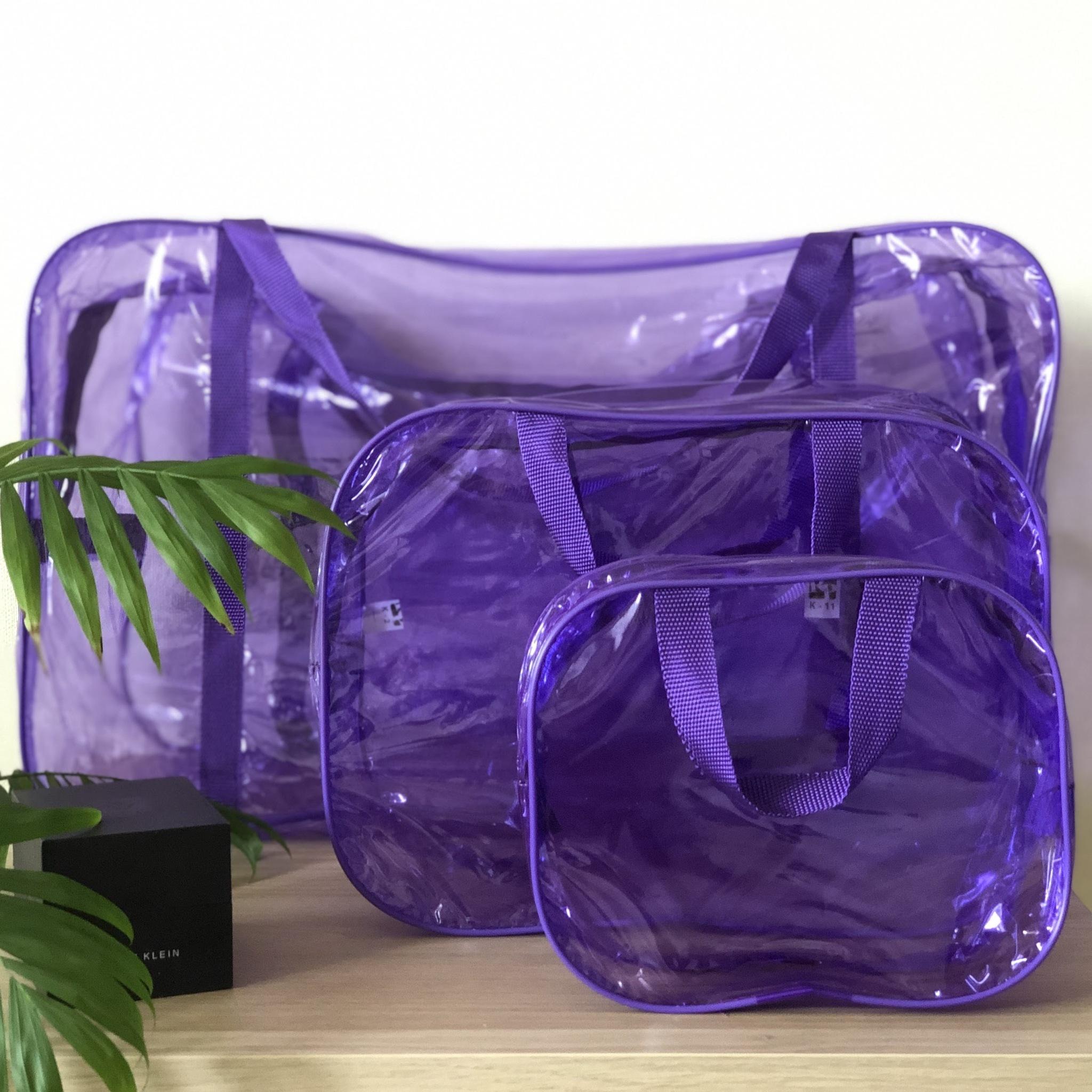 прозрачные сумки в роддом купить