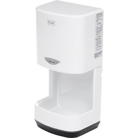 Сушилка электрическая для рук 1 кВт белая Puff-8838