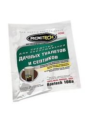 Средство Roetech 106a для обслуживания дачных туалетов и септиков