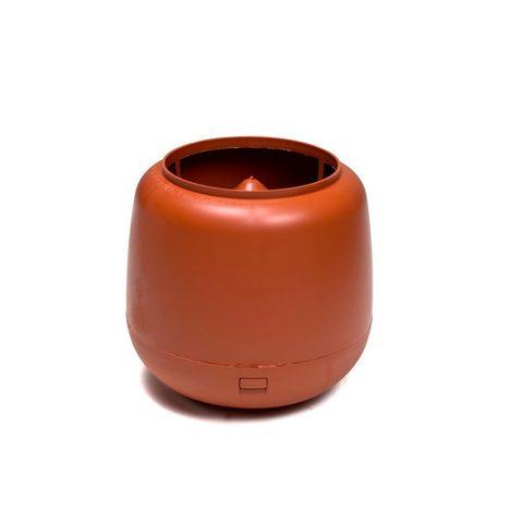 Колпак-дефлекатор для трубы 160мм RAL8017 для изолиров.вентиляц.выход канализации 110/160/500