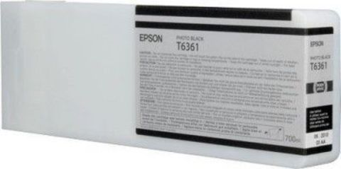 Картридж Epson C13T636100 с фото чернилами (чёрный) 700 мл для Epson Stylus Pro 7700/7890/7900/9700/9890/9900