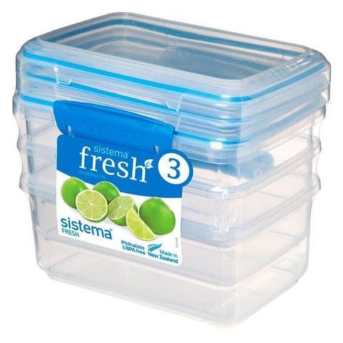 Набор контейнеров Fresh (3 шт.), 1 л