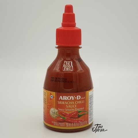 Соус Шрирача (перца чили 35%) AROY-D, 230 гр