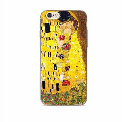 Telefon üzlüyü iPhone 8 Plus - Klimt