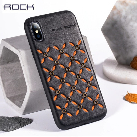 Чехол iPhone XS Rock Origin Series /black/