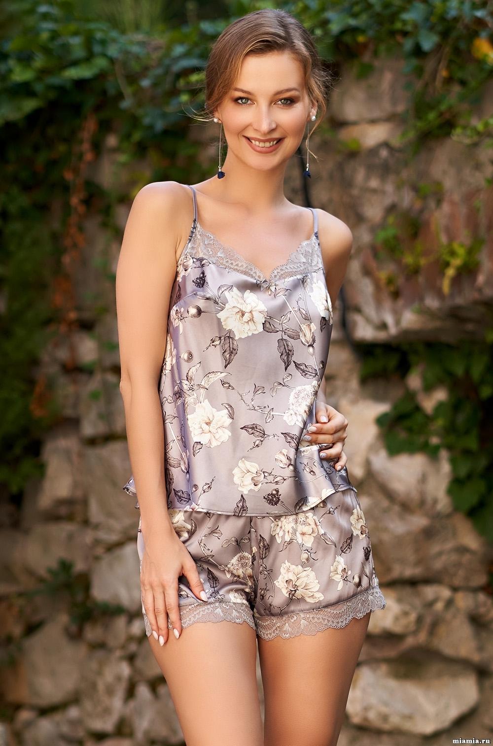 шелк натуральный Пижама женская Mia-Amore GRACIA ГРАЦИЯ 3582 3582_2.jpg