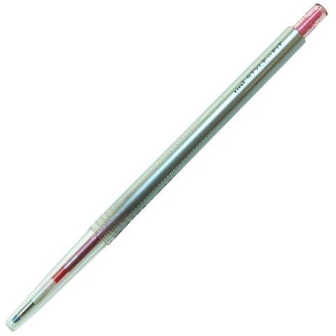 Гелевая ручка 0,38 мм Uni Style Fit - Rose Pink - красно-розовые чернила