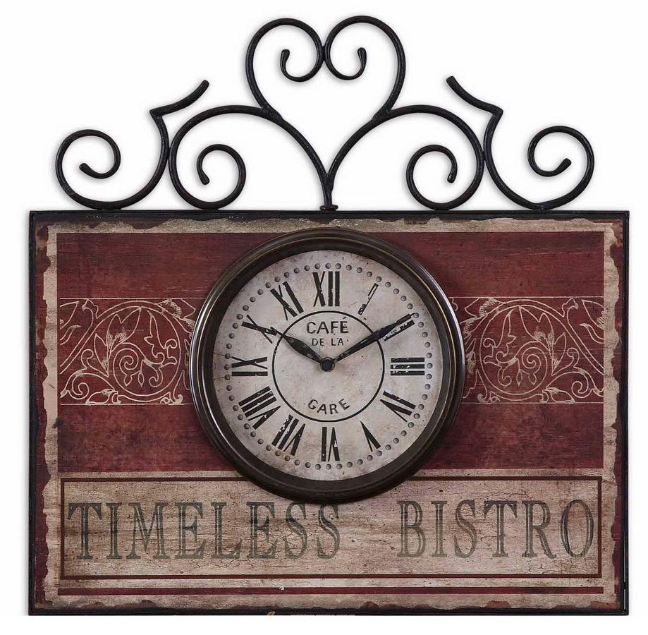 Часы настенные Часы настенные Uttermost 06663 Timeless bistro chasy-nastennye-uttermost-06663-ssha.jpg