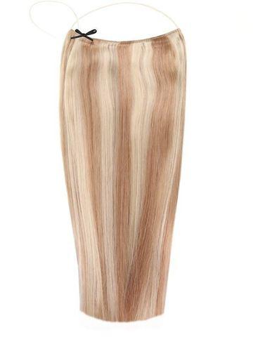 Мелированные волосы на леске
