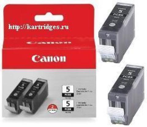 Картридж Canon PGI-5BKTWIN PACK / 0628B025