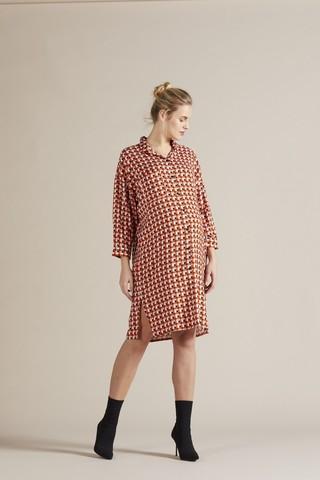 Платье 09753 геометрия/принт