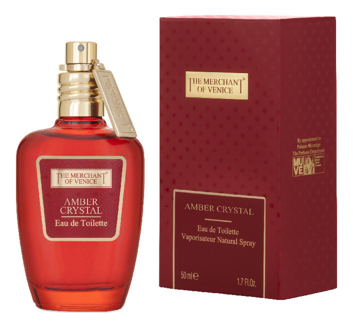 The Merchant of Venice Amber Crystal EDT