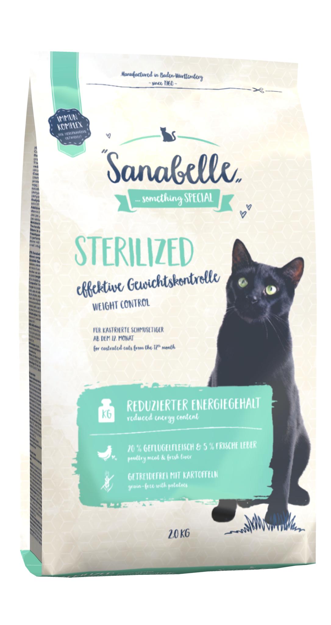 Сухой корм для кошек bosch sanabelle купить в