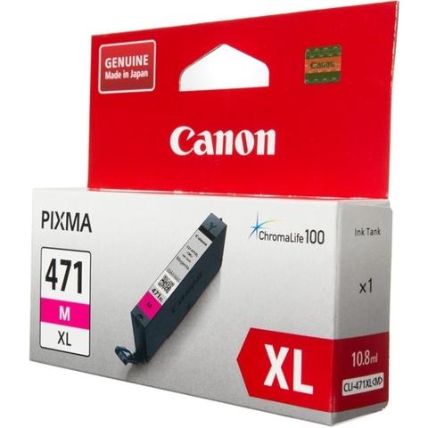 Картридж Canon CLI-471XL M пурпурный