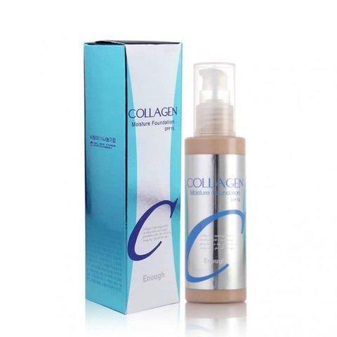 Тональная основа Enough Collagen Moisture Foundation SPF 15 #21