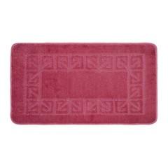 Коврик для ванной BANYOLIN 60х100 см ворс, темно-розовый