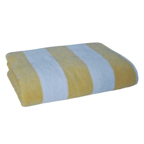 Полотенце 70х140 Casual Avenue Tampa желтое/белое
