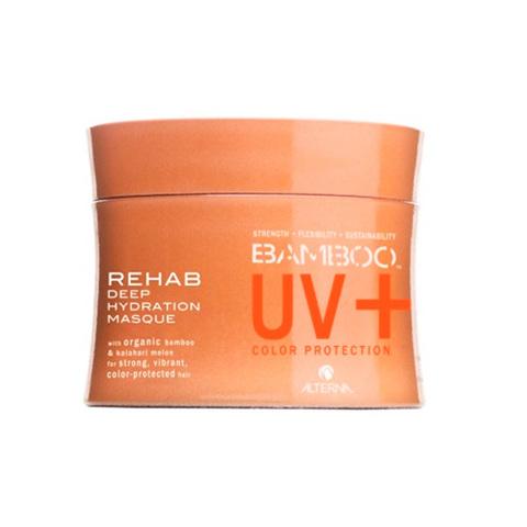 Alterna Bamboo Color Care UV+ Rehab Deep Hydration Masque - Глубоко увлажняющая маска для окрашенных волос с экстрактом бамбука