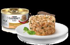 Gourmet Gold Нежные биточки с индейка с шпинатом 85 г