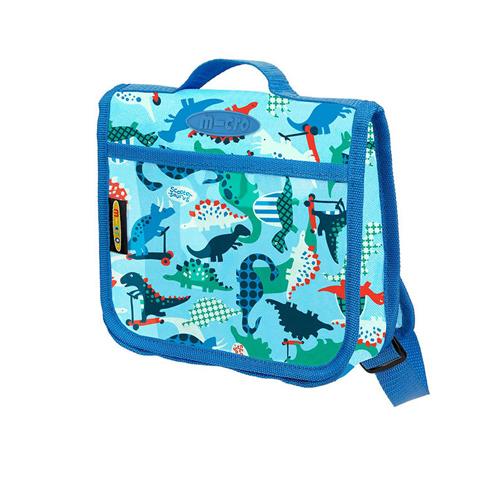Сумочка-рюкзак Micro. Скутерозавры. Синяя
