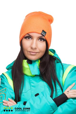 Горнолыжная шапка Cool Zone оранжевая